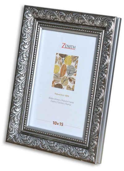 Victor (Zenith) Bilderrahmen »Rubens«, 10x15 cm, in schwarz silber, Leiste: 30x20mm, Barock, antiker Rahmen