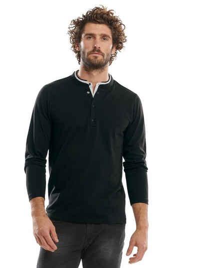 emilio adani Langarmshirt »Langarmshirt im Lagenlook«
