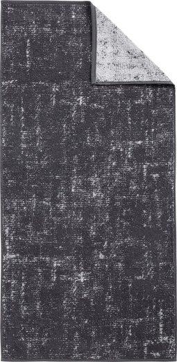 Dyckhoff Handtuch Set »Golden Shades Canvas« (3-tlg), in Canvas-Optik