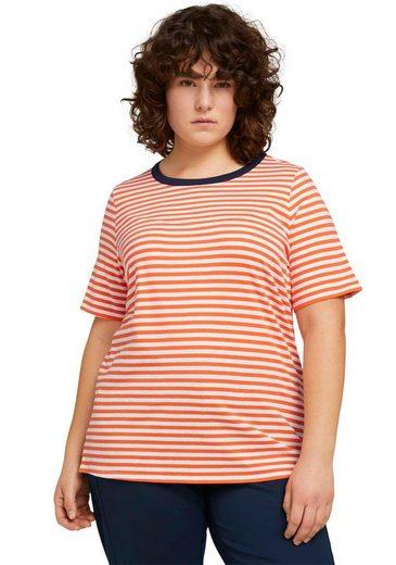 TOM TAILOR MY TRUE ME T-Shirt im süßen Ringel-Look