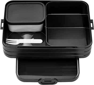 Mepal Lunchbox »Bento Box Take A Break Large, Black Edition«, TPE/PP/ABS, BPA-frei