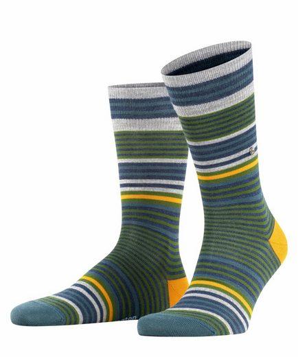 Burlington Socken »Stripe« (1-Paar) mit hohem Schurwoll-Anteil