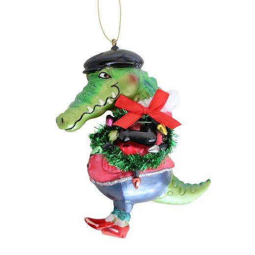 Giftcompany Christbaumschmuck »Gift-Company Christbaum-Hänger Mister Krokodil« (1-tlg)