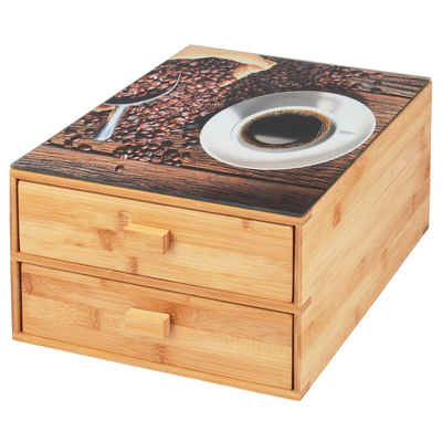 bremermann Kapselspender »Kaffeekapselbox Bambus«