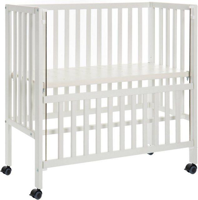 Babybetten - Fillikid Beistellbett »Cocon Plus, weiß«  - Onlineshop OTTO
