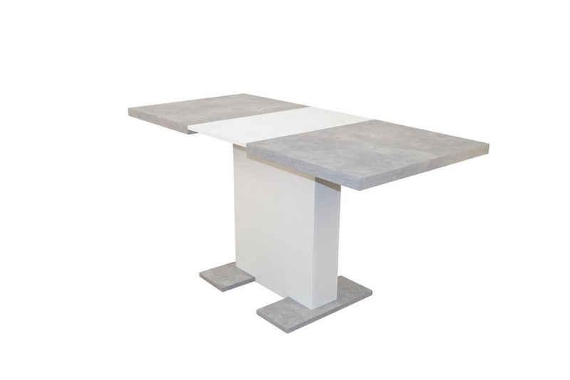 moebel-direkt-online Säulen-Esstisch »Sonja« (1-St), ausziehbar von 110 bis 150 cm