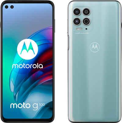 Motorola Moto G100 Smartphone (17 cm/6,7 Zoll, 128 GB Speicherplatz, 64 MP Kamera)