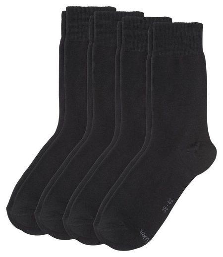 s.Oliver Kurzsocken »Unisex Socken, 4er Pack - Kurzsocken, Classic«