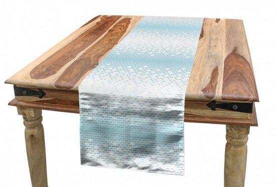 Abakuhaus Tischläufer »Esszimmer Küche Rechteckiger Dekorativer Tischläufer«, Abstrakt Pastel Brick Wall Design