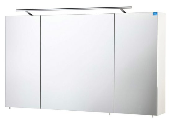MARLIN Spiegelschrank »3043« mit LED-Beleuchtung, Breite 120 cm