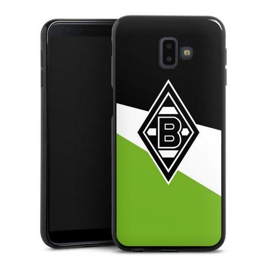 DeinDesign Handyhülle »Borussia Schwarz-Weiss-Grün« Samsung Galaxy J6 Plus Duos (2018), Hülle Borussia Mönchengladbach Gladbach