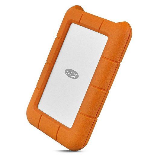 LaCie »Rugged 2TB USB-C orange« externe HDD-Festplatte
