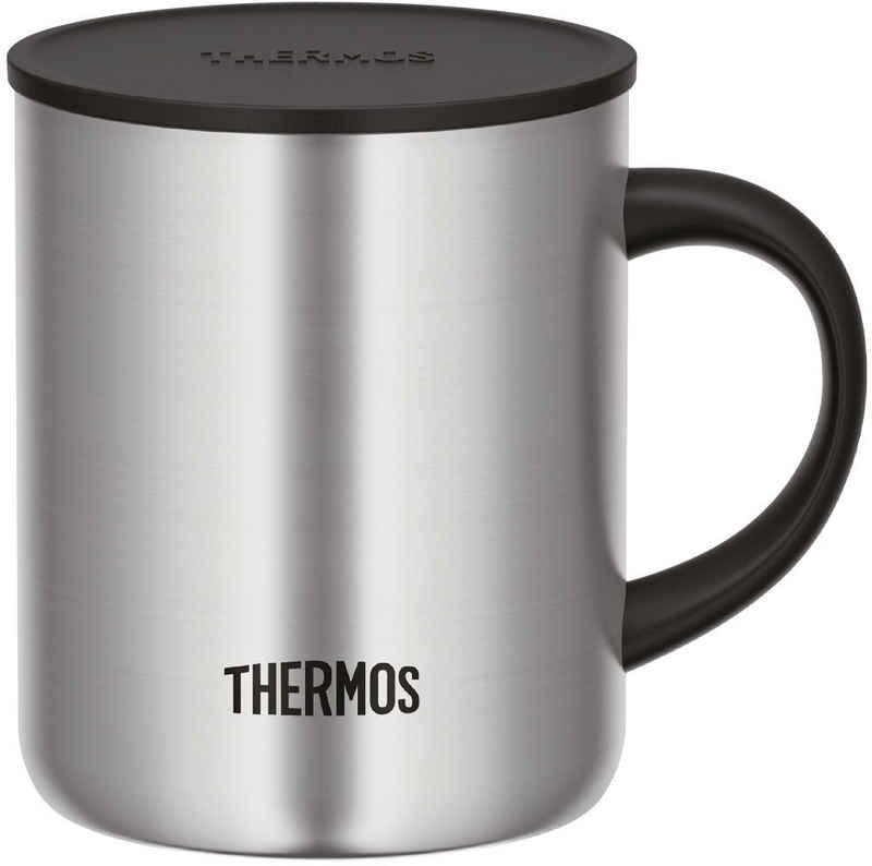 THERMOS Tasse »Longlife«, Edelstahl, doppelwandig, 0,35 Liter, mit Deckel