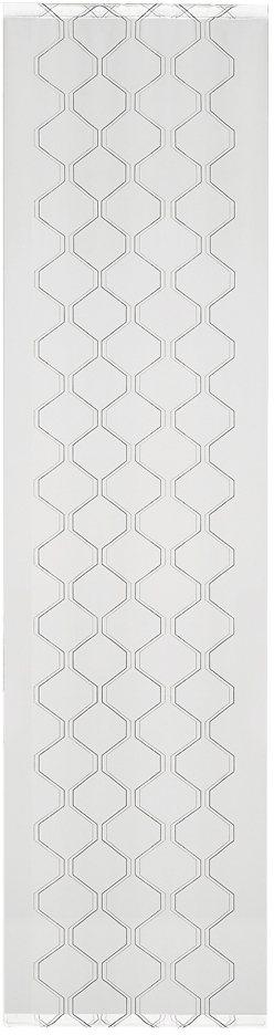 schiebegardine happy home lucetta mit klettband 1 st ck mit zubeh r online kaufen otto. Black Bedroom Furniture Sets. Home Design Ideas