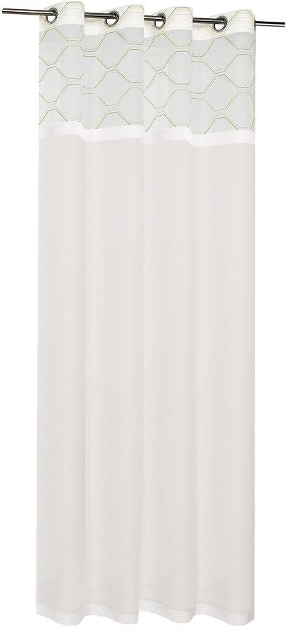 Vorhang, Happy Home, »Laurencia« (1 Stück) in grün/weiß