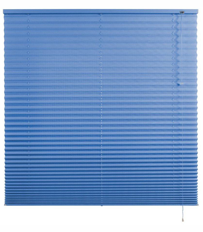 Plissee-Faltenstore, Good Life, »Ada«, im Festmaß, Lichtschutz (1 Stck.) in blau