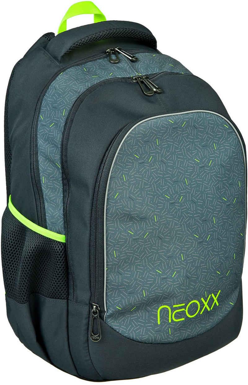 neoxx Schulrucksack »Fly, Boom«, aus recycelten PET-Flaschen
