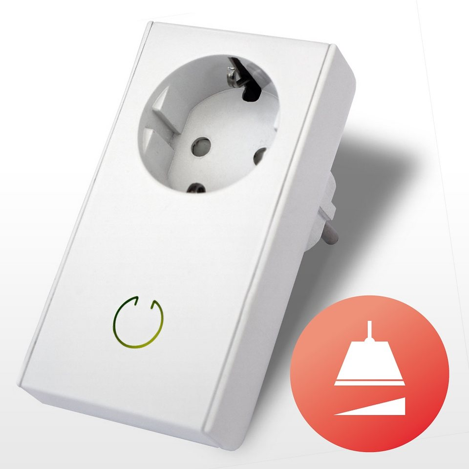 tapHOME Homecontrol »EASYPlugDim DimmAdapter« in weiss