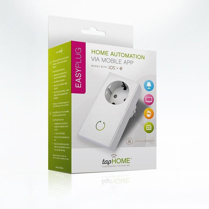 tapHOME Homecontrol »EASYPlug Schaltadapter« in weiss