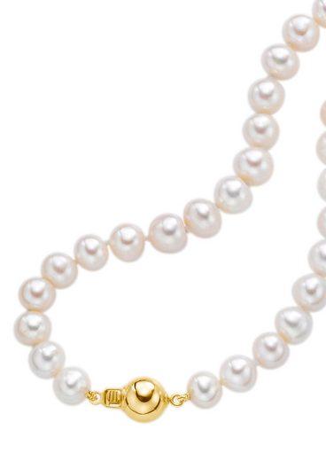 Firetti Perlenkette »Collier«, mit Süßwasserzuchtperlen