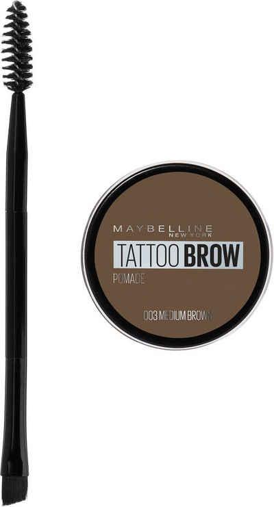 MAYBELLINE NEW YORK Augenbrauen-Gel »Tattoo Brow Pomade Pot«
