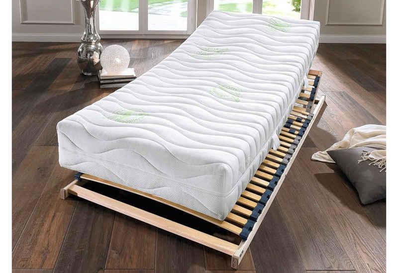 Taschenfederkernmatratze »Green TA«, Hn8 Schlafsysteme, 20 cm hoch, 400 Federn, Greenfirst Bezug - natürlicher Schutz gegen Hausstaubmilben