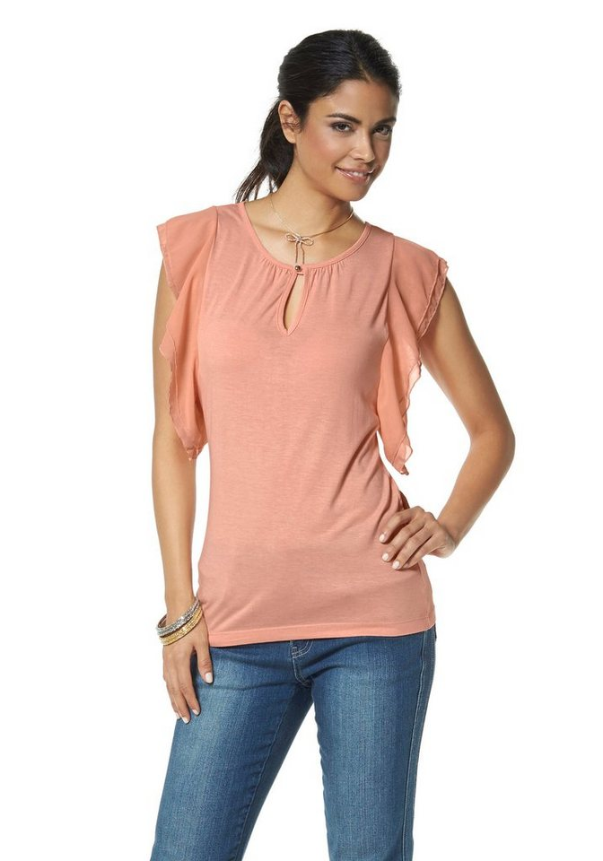 Chillytime Shirt in Apricot