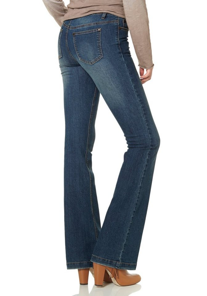 AJC Bootcutjeans in Jeansblau
