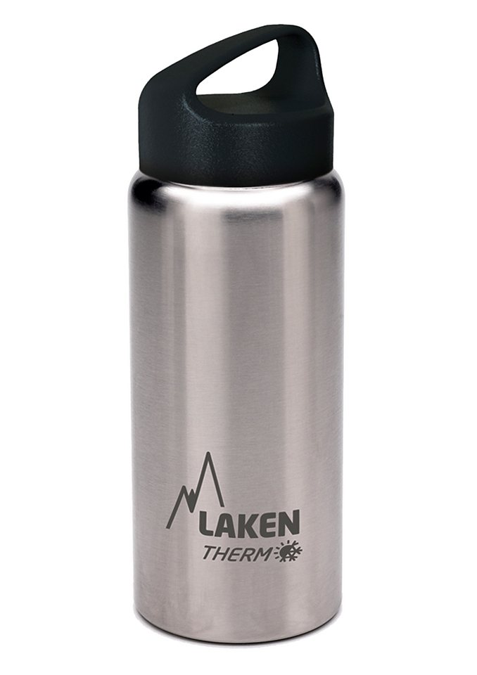 Trinkflasche, Laken®, »Classic Thermo« in grau