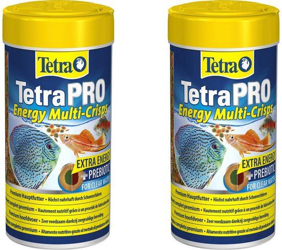 Tetra Fischfutter »Pro Energy«, Flockenfutter 2x250 ml