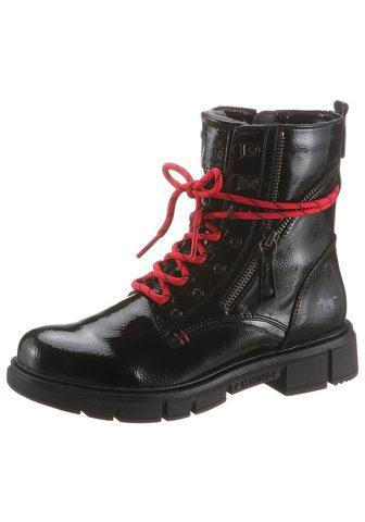 Mustang Shoes Suvarstomi batai su Plateausohle