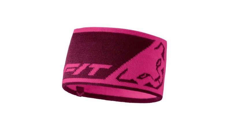 Dynafit Stirnband »Dynafit Stirnband Leopard Logo pink«