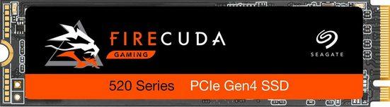Seagate »FireCuda 520« Gaming-SSD (500 GB) 5000 MB/S Lesegeschwindigkeit, 2500 MB/S Schreibgeschwindigkeit, Inklusive 3 Jahre Rescue Data Recovery Services)