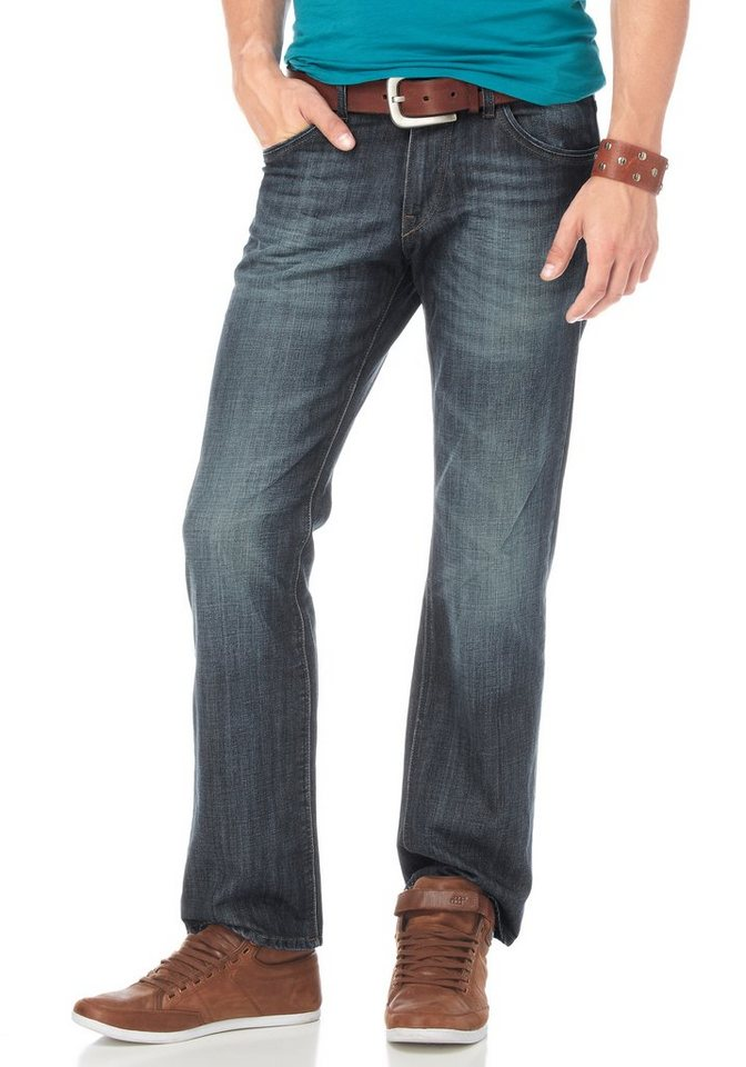 Tom Tailor Regular-fit-Jeans in Light-blue-used