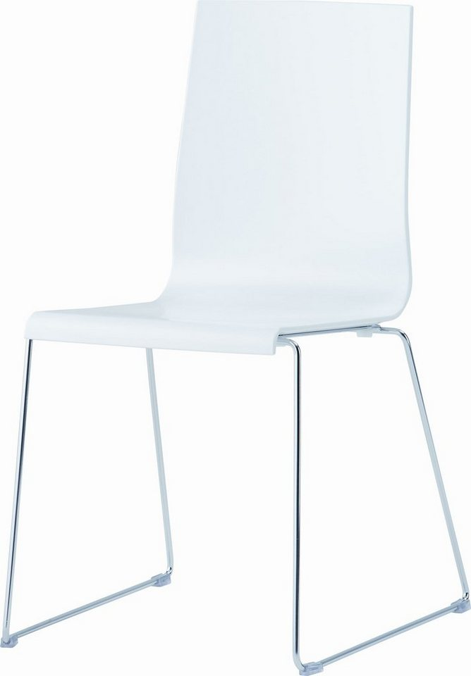Stuhl, Jankurtzmöbel (2er-Set) in weiß