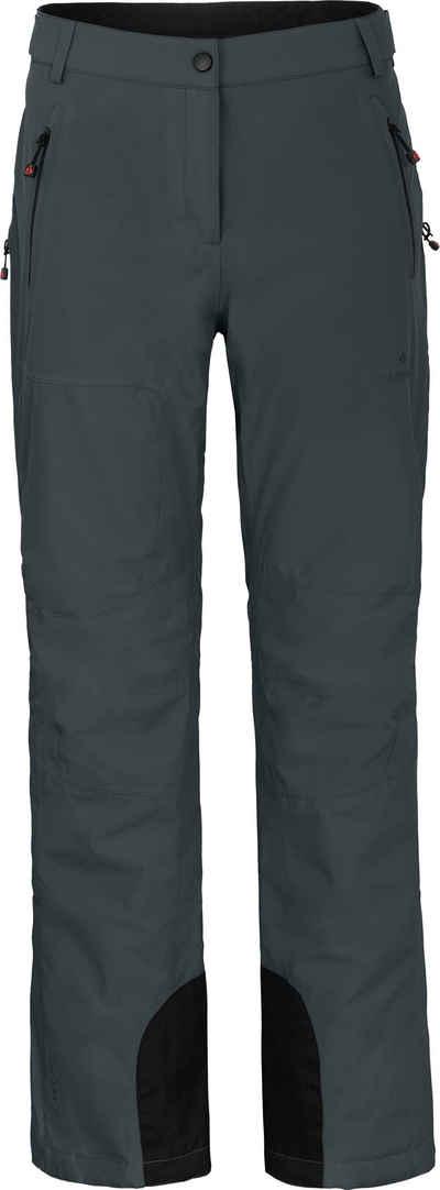 Bergson Skihose »ICE light« unwattierte Damen Skihose mit 20.000er Wassersäule, Langgrößen, dunkel grau