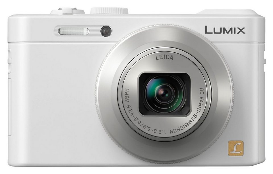 Panasonic DMC-LF1EG-W Kompakt Kamera, 12,1 Megapixel, 7,1x opt. Zoom, 7,5 cm (3 Zoll) Display in weiß