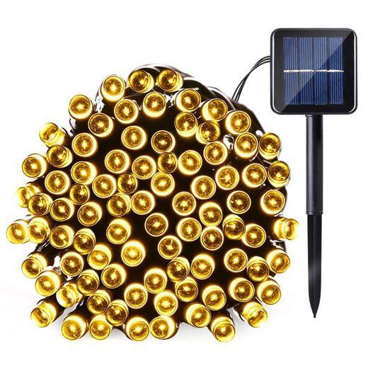 TOPMELON Lichterkette »LED Dekolicht,Solarleuchten«, 100-flammig, Solarenergie betrieben,Wasserdichte