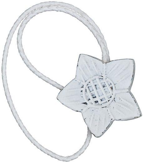 Raffhalter »Florena«, Gerster, Gardinen, (2-tlg), Magnethalter