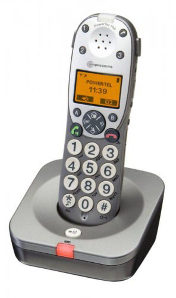 Audioline Großtastentelefon »amplicomms PowerTel 700«