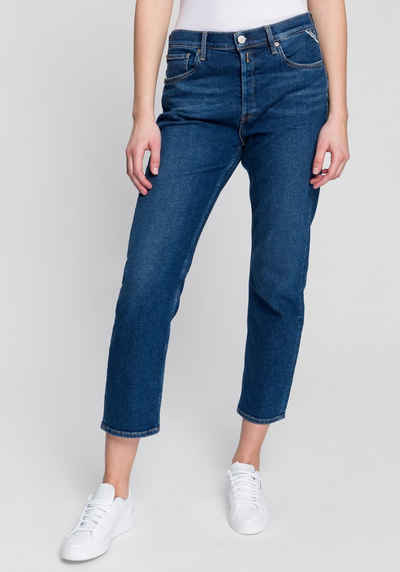 Replay Boyfriend-Jeans »Leony« im Five-Pocket-Style und 7/8 Schnitt