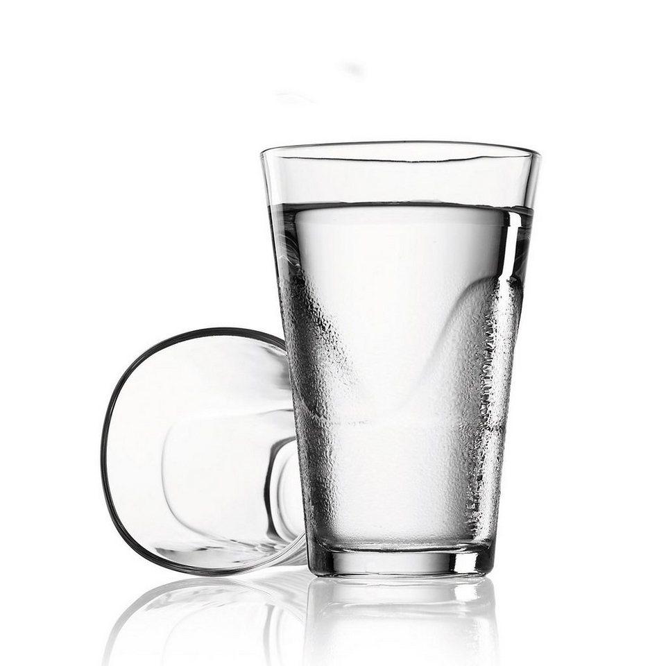 MENU Menu SET Karaffe 1L weiss mit 2 Gläsern in weiß