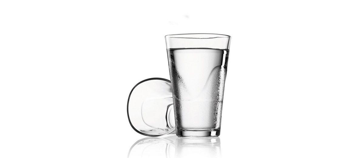 MENU Menu SET Karaffe 1L weiss mit 2 Gläsern