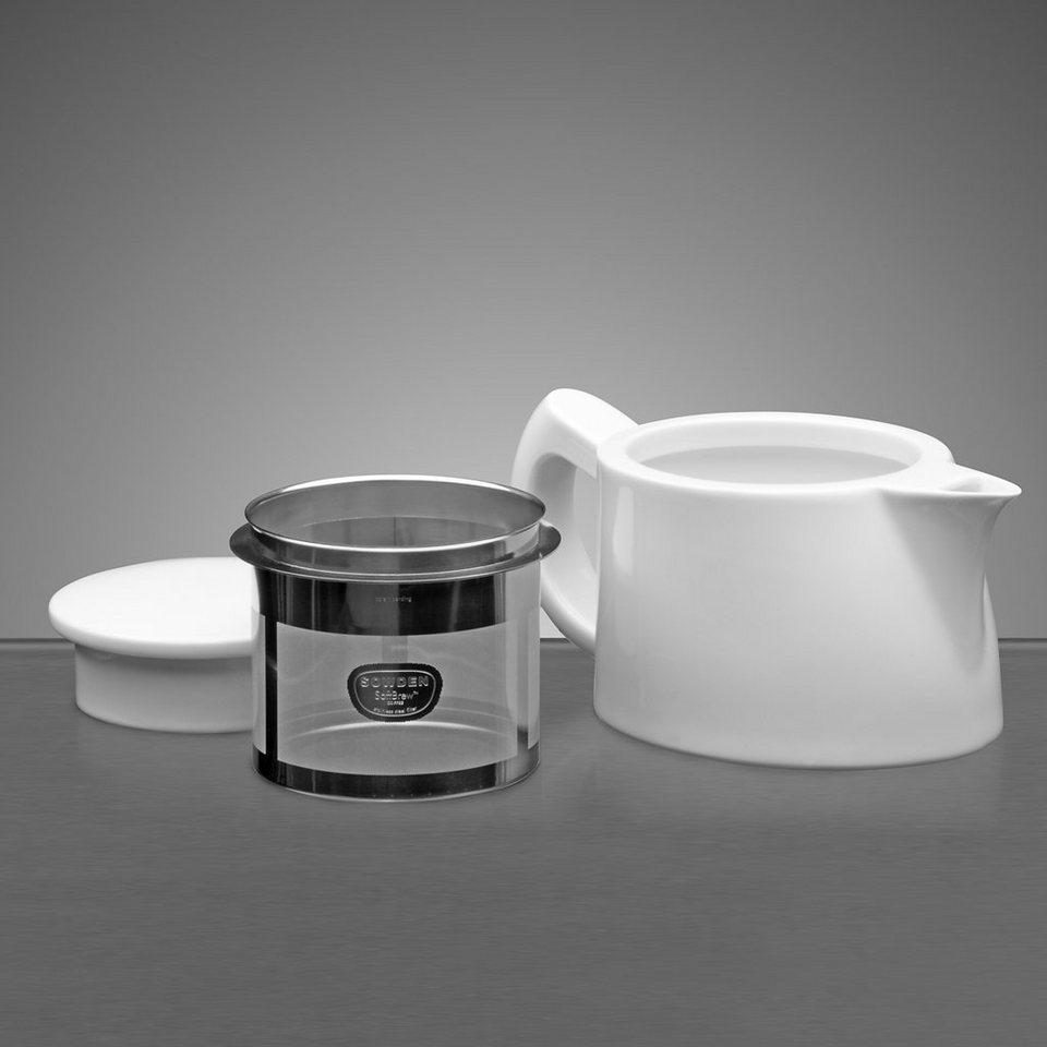 Sowden Sowden SoftBrew Kaffeekanne OSKAR 0.4L in weiß