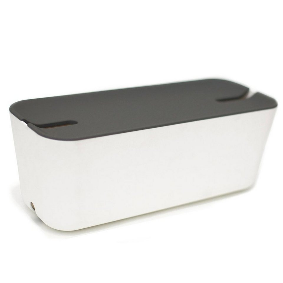 BOSIGN Bosign Kabelbox HIDEAWAY XL weiß-dunkelgrau in weiß-dunkelgrau