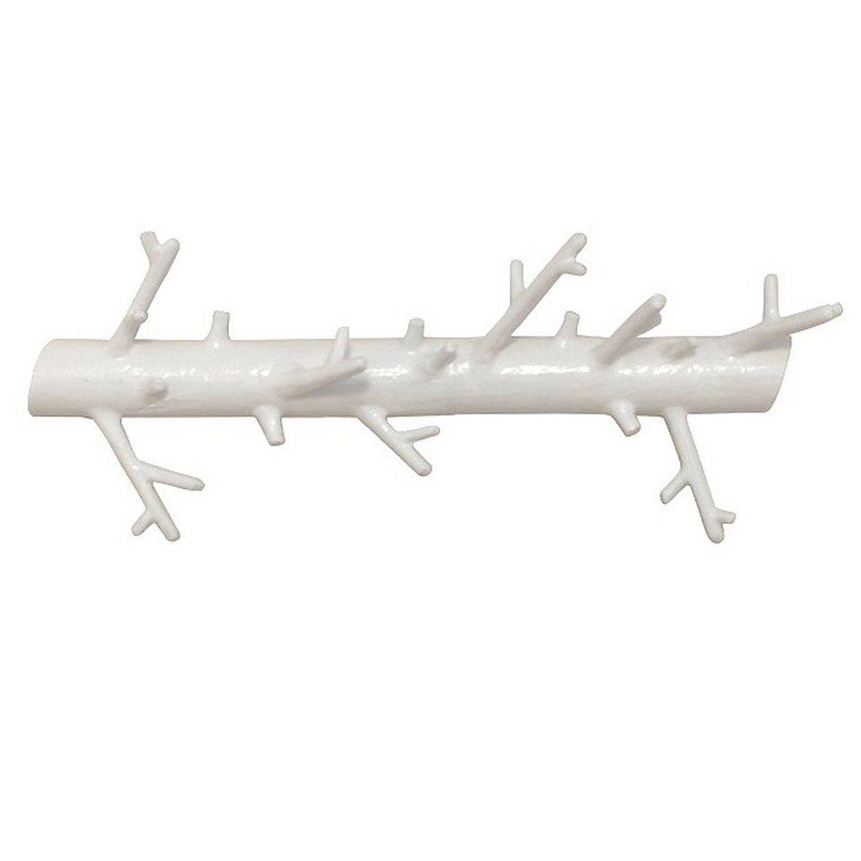 BOSIGN Bosign BRANCH HANGER long Garderobenhaken weiß lackiert in weiß lackiert