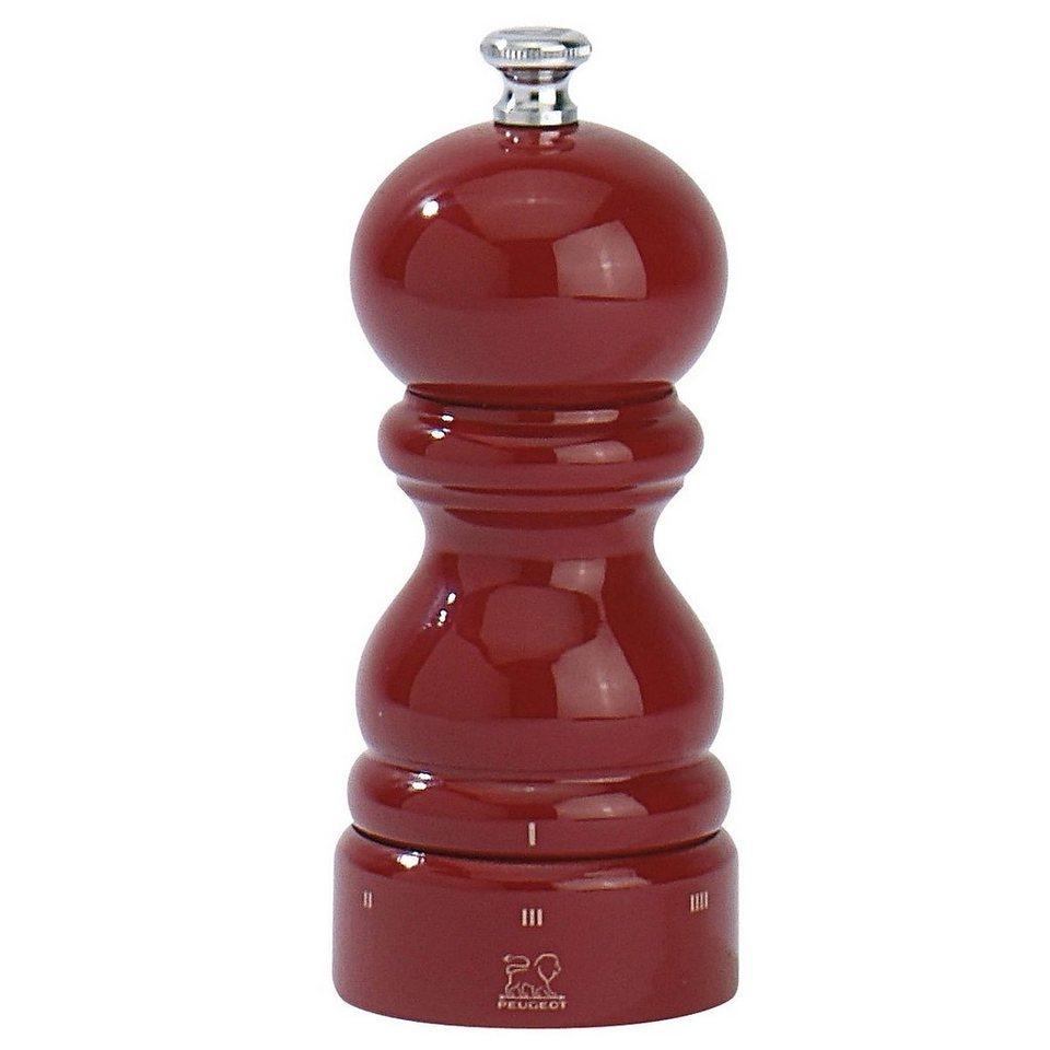 PEUGEOT Peugeot Salzmühle PARIS U-Select 12cm rot lackiert in rot lackiert