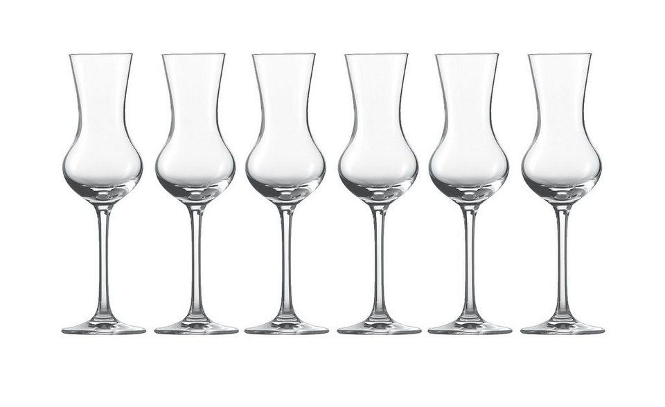 Schott Zwiesel Set: Grappa-Edelobstbrand Glas 6er-Set »Bar Special« in Transparent