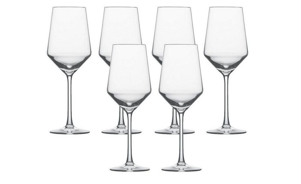 Schott Zwiesel Set: Sauvignon Blanc Glas 6er-Set »Pure« in Transparent