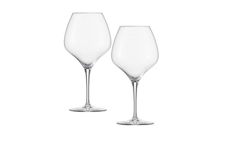Zwiesel 1872 Set: Grauburgunder Glas 2er-Set »The First« in Transparent